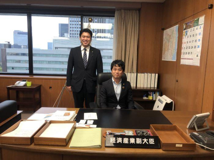 地元衆議院議員 松本洋平経済産業副大臣とともに市民のみなさまのためにがんばります!